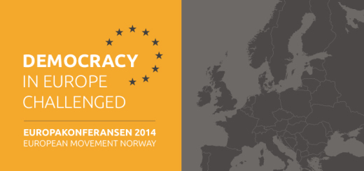 Velkommen til Europakonferansen 2014 - Democracy in Europe Challenged
