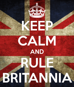 Keep calm and Rule Britannia