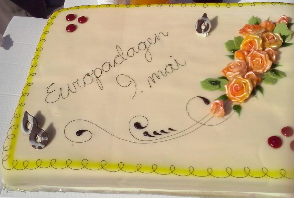 Kake på Europadagen i Trondheim!