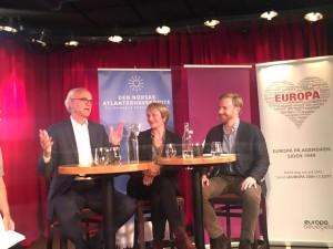 Tysk innenrikspolitikk til debatt med Axel Berg, Kate H. Bundt og Eirik Sætre.