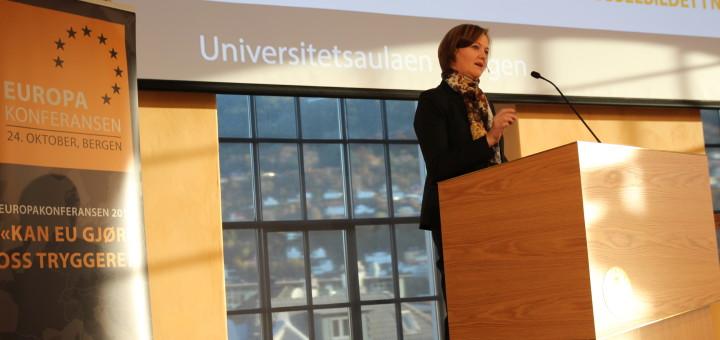 Europaminister Marit Berger Røsland